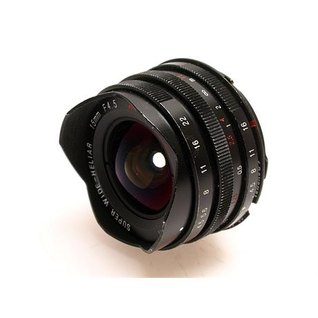 Voigtlander 15mm F4.5 Heliar + Adapter thumbnail