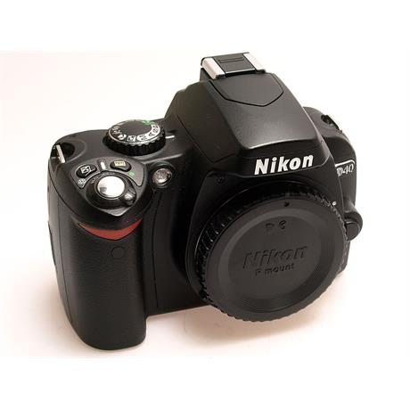 Nikon D40 Body Only thumbnail