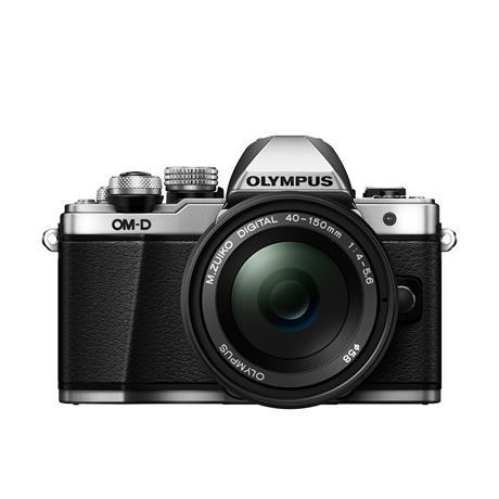 Olympus OM-D E-M10 II Twin Kit - Silver thumbnail