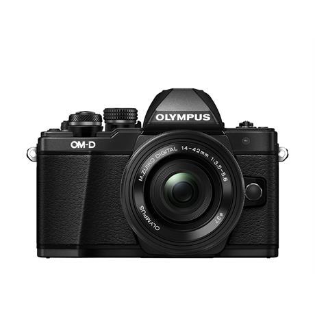 Olympus E-M10 II + 14-42mm EZ Pancake Zoom Kit - Black thumbnail