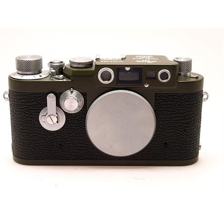 Leica IIIG Olive Green Body Only thumbnail