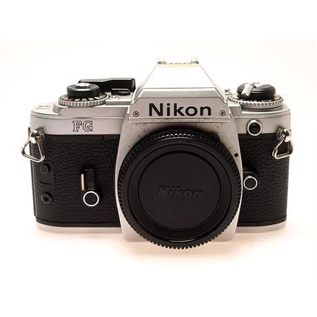 Nikon FG Body Only - Chrome thumbnail