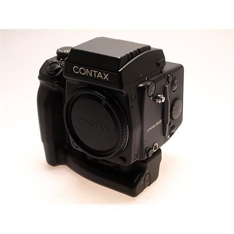 Contax 645 + Waist Level Finder + Mag + MP1 Gri thumbnail