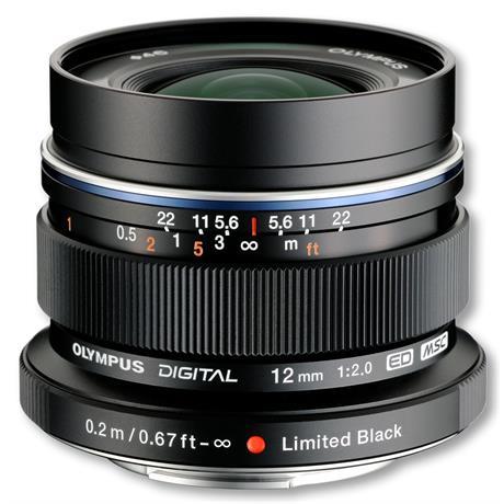 Olympus 12mm F2 ED M.Zuiko - Black thumbnail