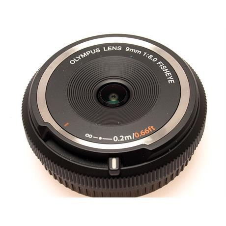 Olympus 9mm F8 Fisheye Body Cap - Black ( BCL-09 thumbnail