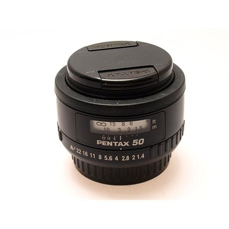 Pentax 50mm F1.4 SMC FA thumbnail