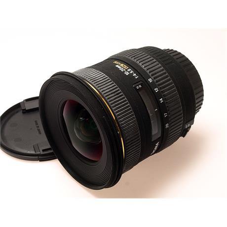 Sigma 10-20mm F4-5.6 EX DC HSM - Canon EOS thumbnail