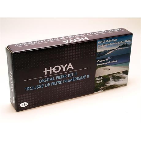 Hoya 58mm Digital Filter Kit II thumbnail