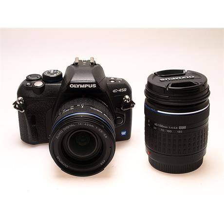 Olympus E450 + 14-42mm + 40-150mm thumbnail