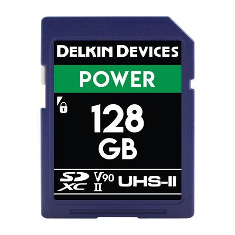 Delkin 128GB SDHC UHS-II Power 2000X V90 thumbnail