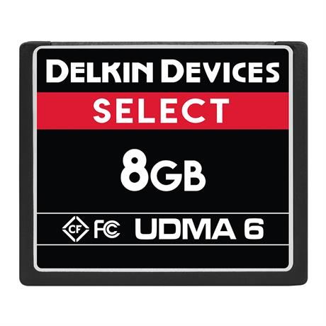 Delkin 8GB CF UDMA 6 Select 500x thumbnail