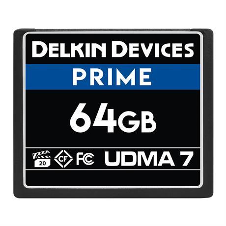 Delkin 64GB CF UDMA 7 Prime 1050x thumbnail