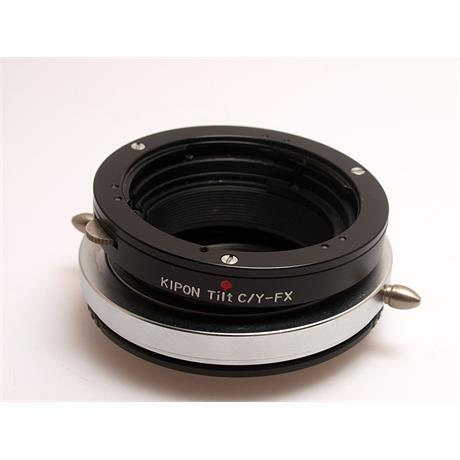 Kipon Contax - Fuji X Tilt Lens Mount Adapter thumbnail