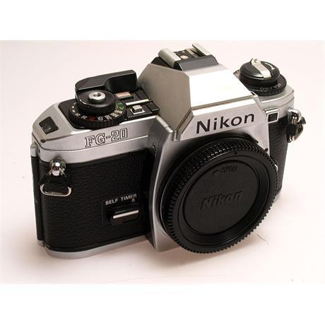 Nikon FG20 Body Only - Chrome thumbnail