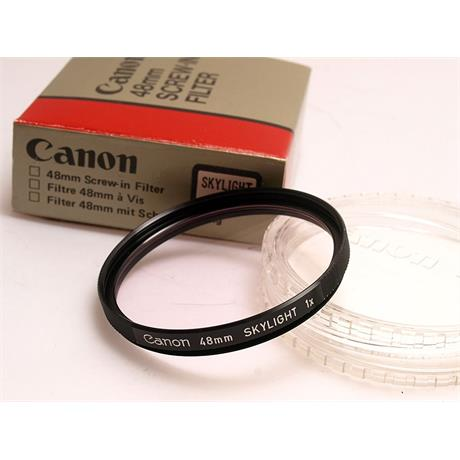 Canon 48mm Skylight thumbnail