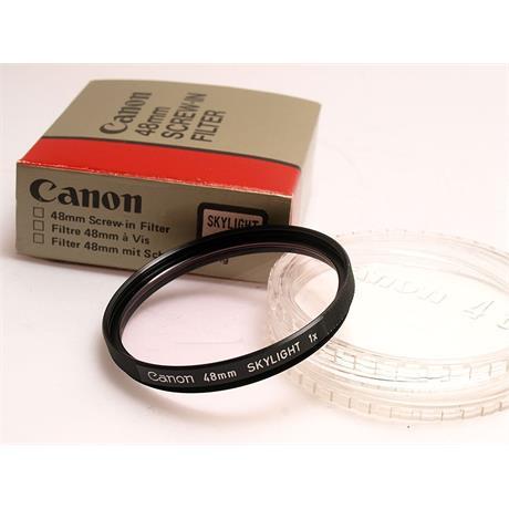 Canon 48mm Skylight thumbnail