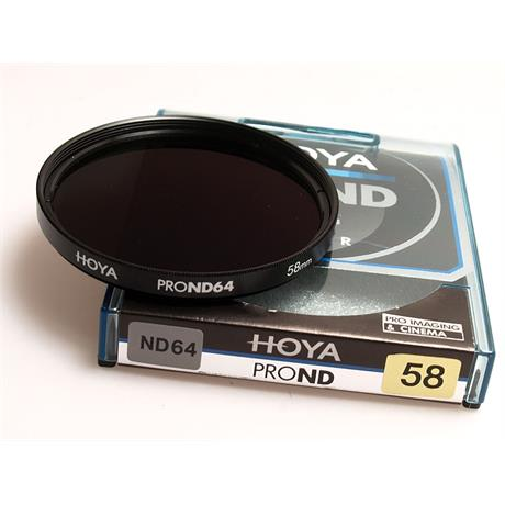 Hoya 58mm Pro ND64x Neutral Density thumbnail