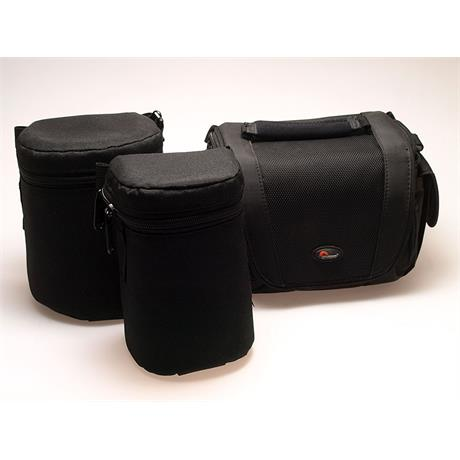 Lowepro Lens Case 1 + Lens Case 1W + Edit 110 thumbnail