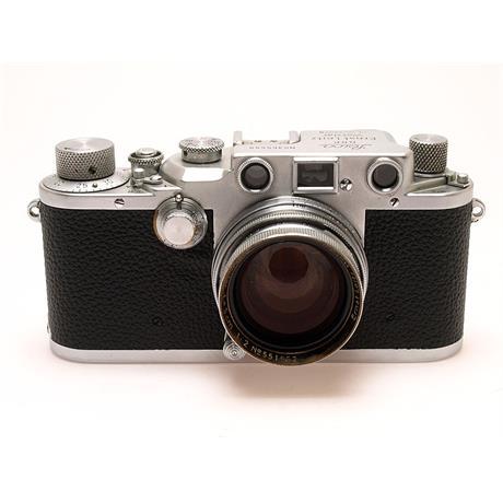 Leica IIIC Luftwaffen + 50mm F2 Summitar thumbnail
