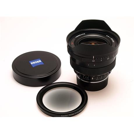 Zeiss 15mm F2.8 ZM - Black thumbnail