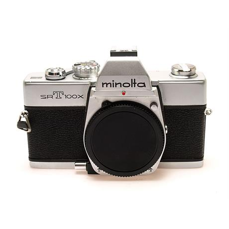 Minolta SRT100X Chrome Body Only thumbnail