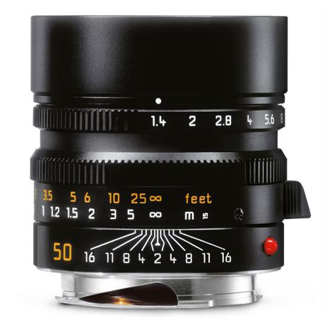 Leica 50mm F1.4 Summilux Asph M - Black Chrome thumbnail