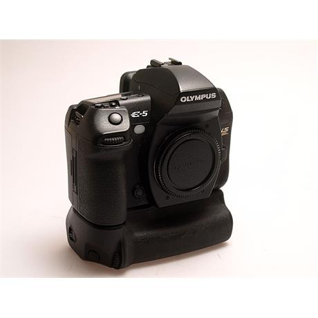 Olympus E5 Body + HLD4 Grip thumbnail