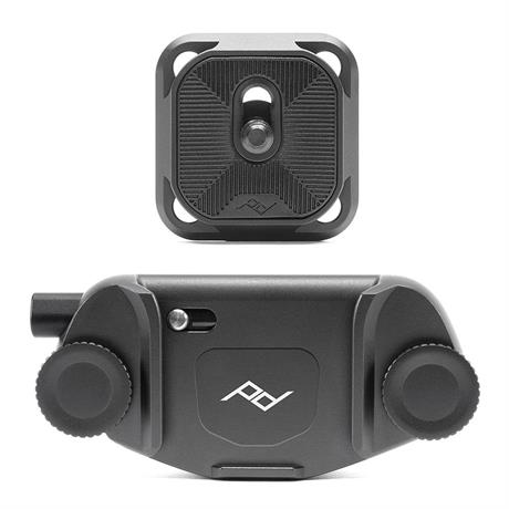 Peak Design Camera Clip V3 + Standard Plate - Black thumbnail