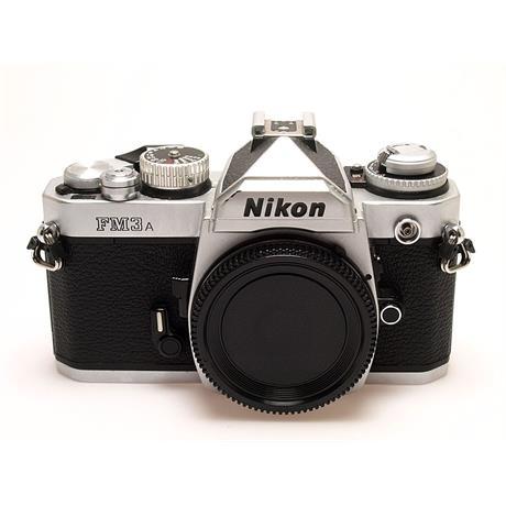Nikon FM3A Body Only - Chrome thumbnail