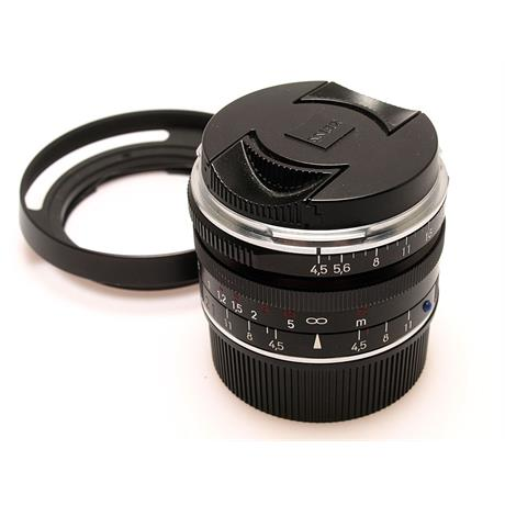 Zeiss 21mm F4.5 ZM + Hood - Black thumbnail