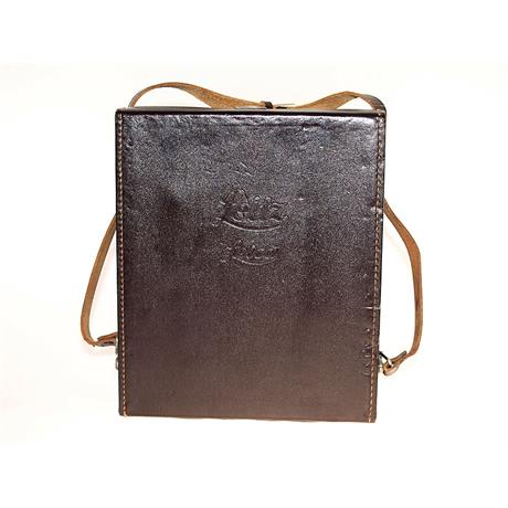 Leica Brown Leather Shoulder Bag thumbnail