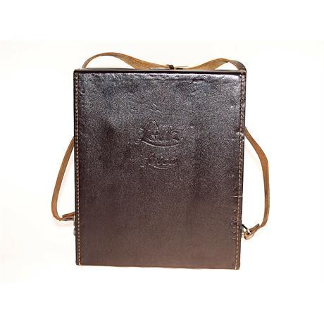 Leica Brown Leather Shoulder Bag thumbnail
