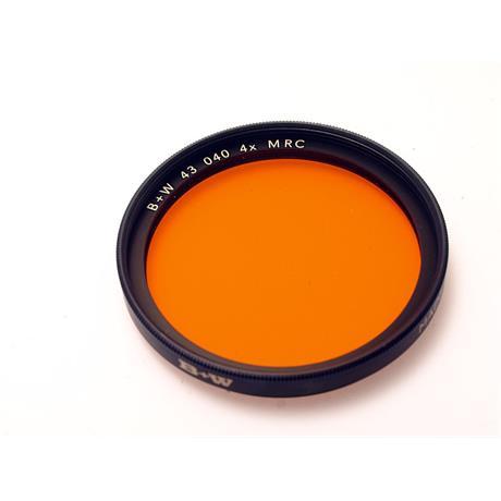 B+W 43mm Orange (040) MRC thumbnail