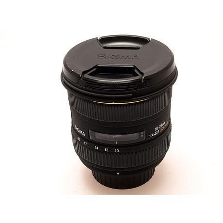 Sigma 10-20mm F4-5.6 EX DC HSM - Nikon AF thumbnail