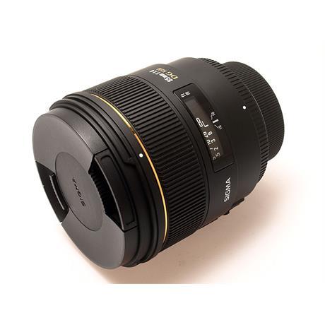 Sigma 85mm F1.4 EX DG HSM - Nikon AF thumbnail