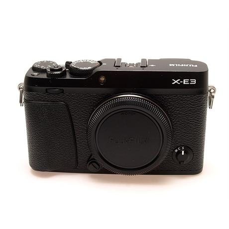 Fujifilm X-E3 Body Only - Black thumbnail