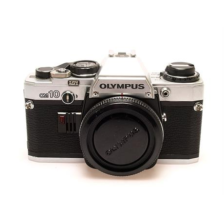 Olympus OM10 Body Only - Chrome thumbnail