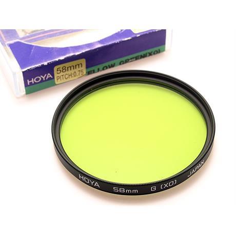 Hoya 58mm Yellow/Green (X0) thumbnail