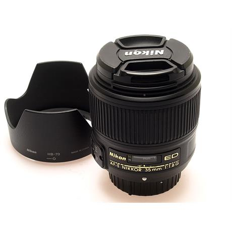 Nikon 35mm F1.8 G AFS FX thumbnail