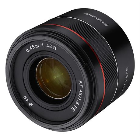 Samyang 45mm F1.8 AF - Sony E ~ Autumn Special Offer thumbnail