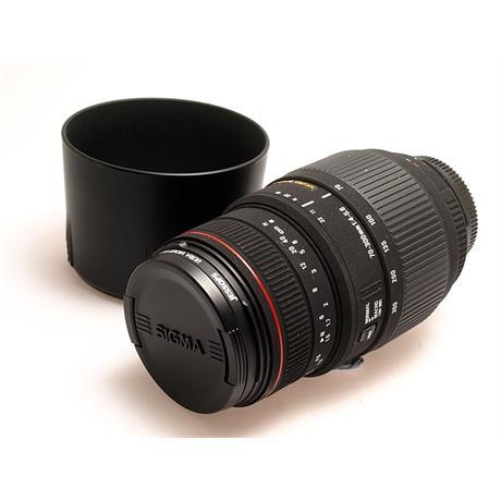 Sigma 70-300mm F4-5.6 Apo DG - Nikon AF thumbnail