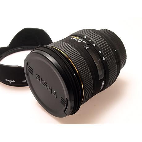 Sigma 10-20mm F4-5.6 DC HSM - Nikon AF thumbnail