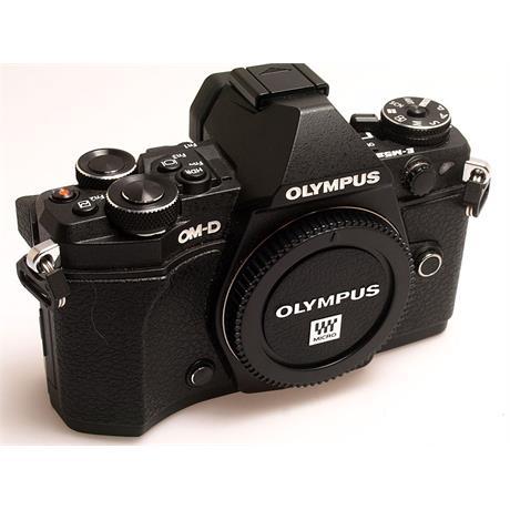 Olympus OM-D E-M5 II Body Only - Black thumbnail