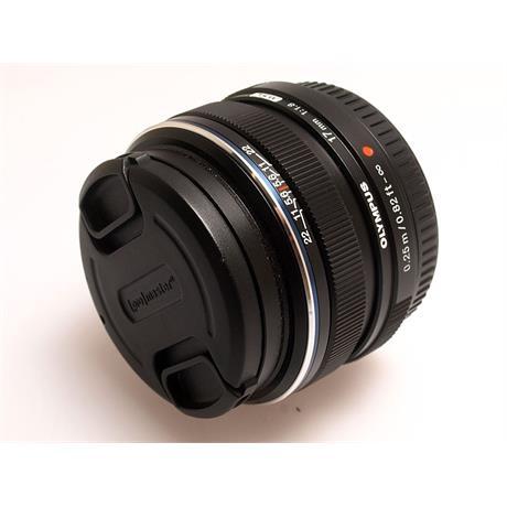 Olympus 17mm F1.8 M.Zuiko Black thumbnail
