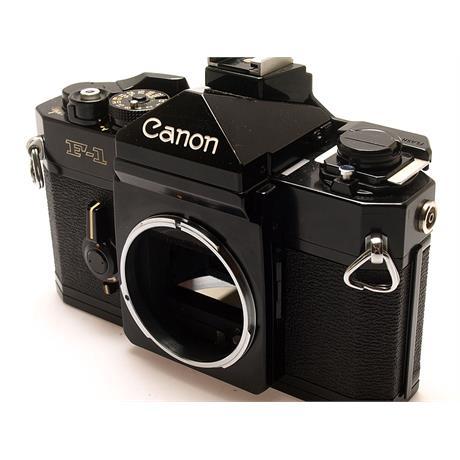 Canon F1 Black Body Only thumbnail