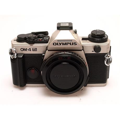Olympus OM4Ti Body Only - Titanium thumbnail