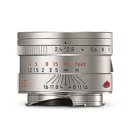 Leica 50mm F2.4 M Silver 6bit  thumbnail