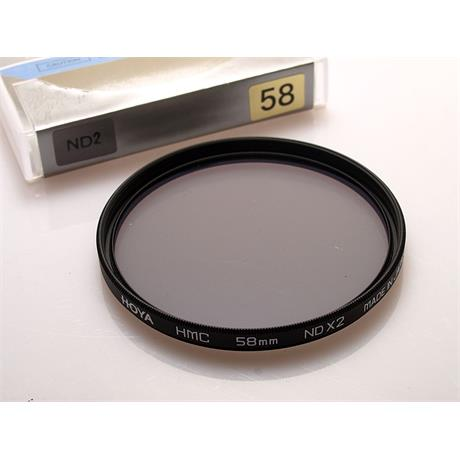 Hoya 58mm HMC Neutral Density ND2 thumbnail