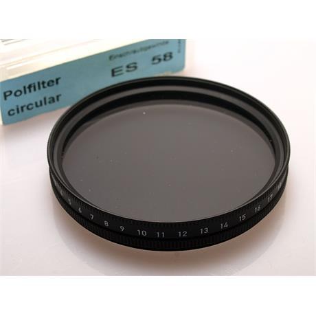 Heliopan 58mm Circular Polariser thumbnail
