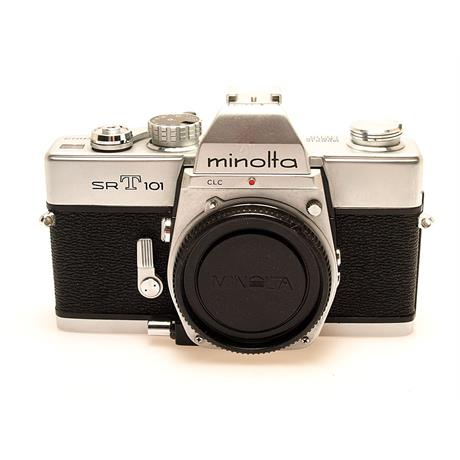 Minolta SRT101 Chrome Body Only thumbnail